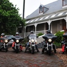 The Harley Davidsons are ready to ride!